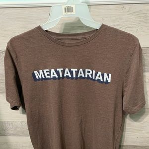 Meatatarian Printed Tee